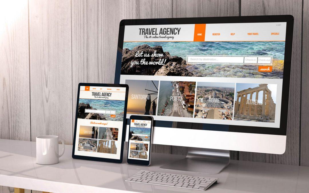 Travel Agency Responsive Website