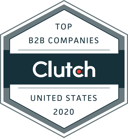 Recognized by Clutch: Top B2B Companies in the United States for 2020